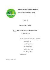 Phụ gia thực phẩm - Chủ đề: Phụ gia trong sản xuất xúc xích