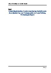 Đề tài Đánh giá hiệu quả giao thông và an toàn trong trường hợp chuyển đổi nút giao đèn tín hiệu thành vòng xoay – Trường hợp nghiên cứu Nút giao Tân Phong, TP. Biên Hòa, tỉnh Đồng Nai