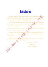 Đề tài Thực trạng kế toán cho vay khách hàng cá nhân trong nước tại chi nhánh NHNO & PTNT thị xã Hương Thủy