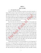 Đề tài Tín dụng hộ sản xuất tại NHNO & PTNT huyện Hương Khê Tỉnh Hà Tĩnh – Thực trạng và giải pháp