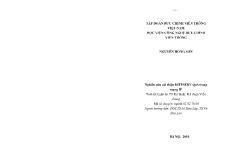 Luận án Nghiên cứu cải thiện DIFFSERV QoS trong mạng IP